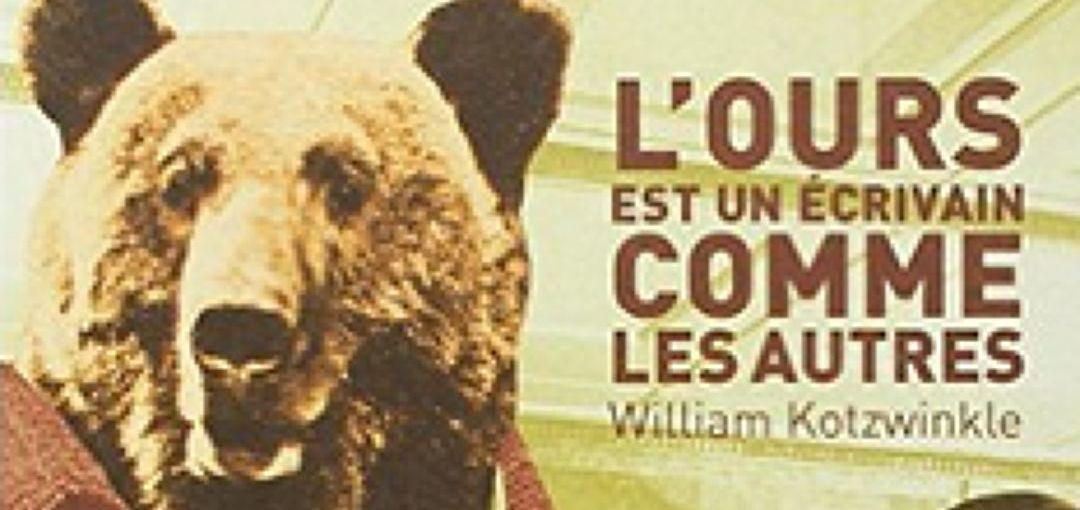 L'écrivain , comme un ours en cage