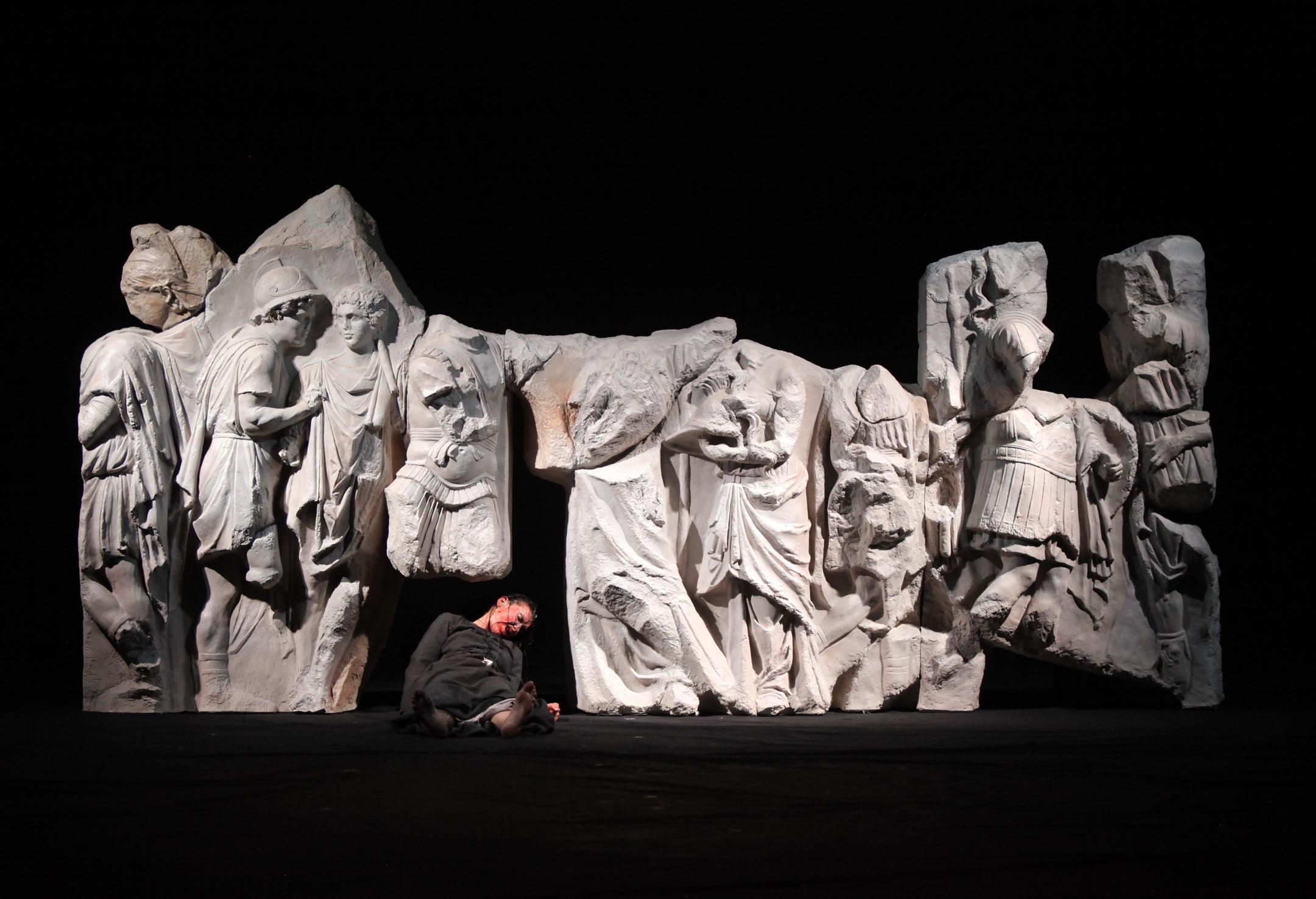 Castellucci met en scène l'aliénation du Nouveau Monde