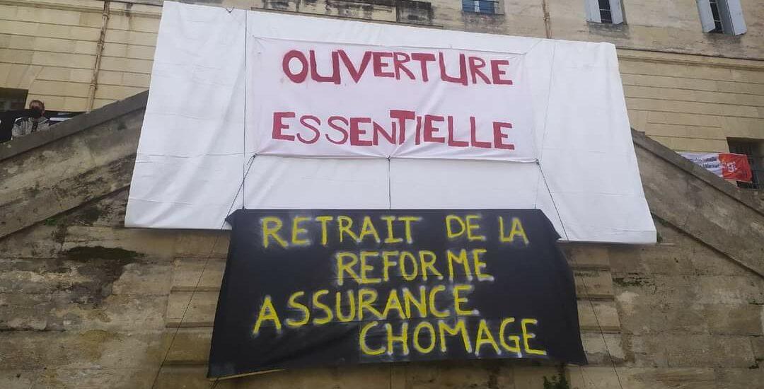 Depuis l'occupation du CCN Montpellier
