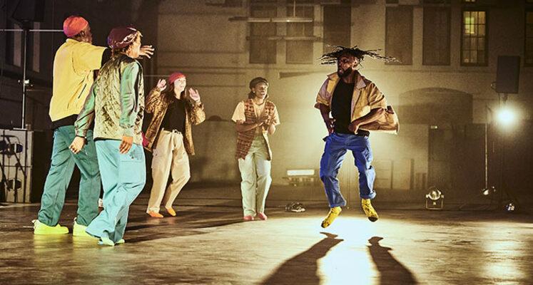 <strong>Come on feet, cas danse hybride <strong>