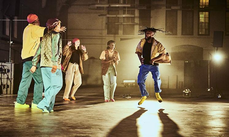 Come on feet, cas danse hybride